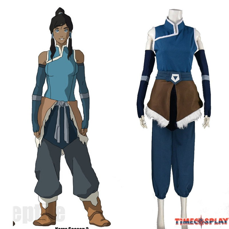 Timecosplay avatar the legend of korra cosplay korra season costume voltagebd Image collections