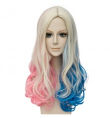 DC Comics Suicide Squad Harley Quinn Cosplay Wigs Daily