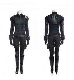 Avengers Infinity War Black Widow Costume Natasha Romanoff Deluxe Costume