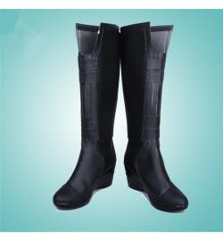 Black Widow Shoes Cosplay Halloween Boots
