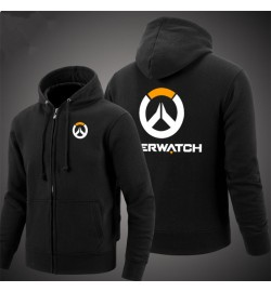 Overwatch Icon Men's Zipper Hoodies