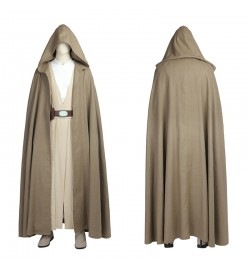 Star Wars 8 The Last Jedi Luke Skywalker Cosplay Costume