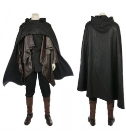 Star Wars 8 The Last Jedi Luke Skywalker Costume Deluxe Cosplay Outfit