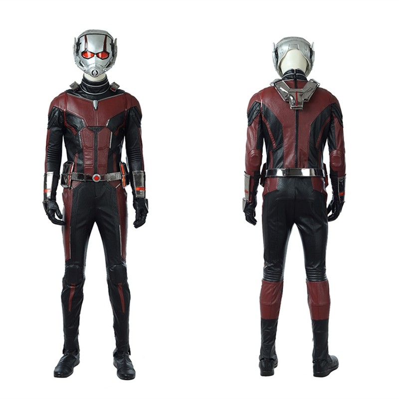 2018 Ant-Man and the Wasp Ant Man Cosplay Costumes - Deluxe Version