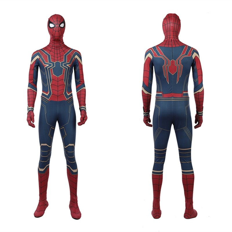 2018 Avengers Infinity War Spiderman Cosplay Costume