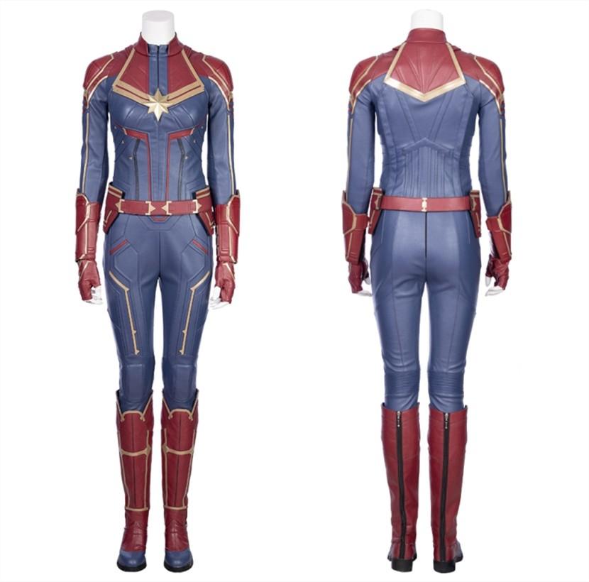 2019 Captain Marvel Cosplay Costume Carol Danvers Costume
