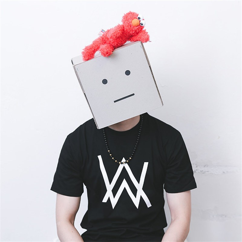 Alan Walker Same Style Short Sleeve T-shirt Tee Shirt