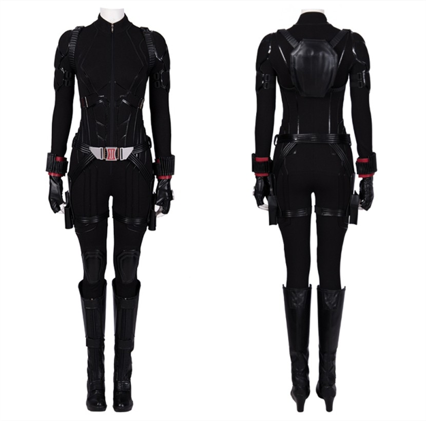 Avengers Endgame Black Widow Cosplay Costume