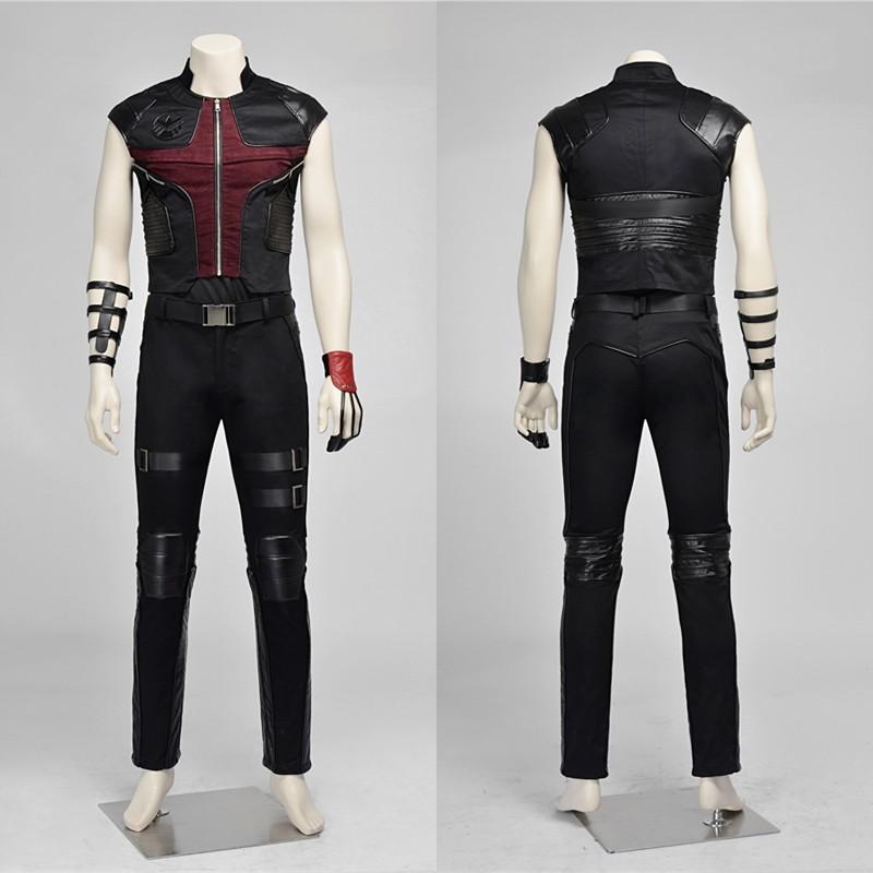 Avengers Hawkeye Barton Cosplay Costume