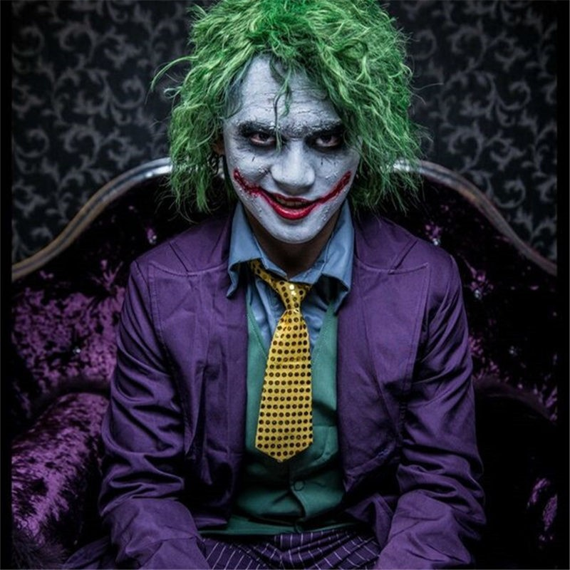 The Dark Knight Joker Cosplay Costume - Deluxe Costume