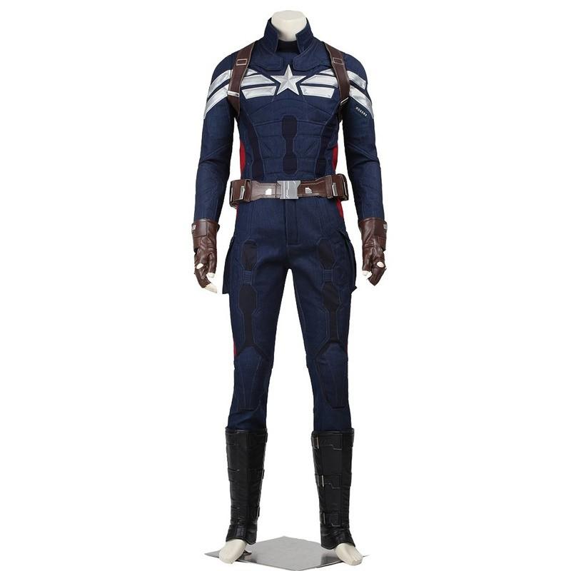 Captain America 2 Captain America Cosplay Steve Rogers Original Costume