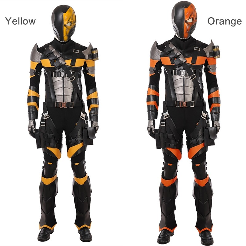 DC Deathstroke Cosplay Costume Deluxe Outfit