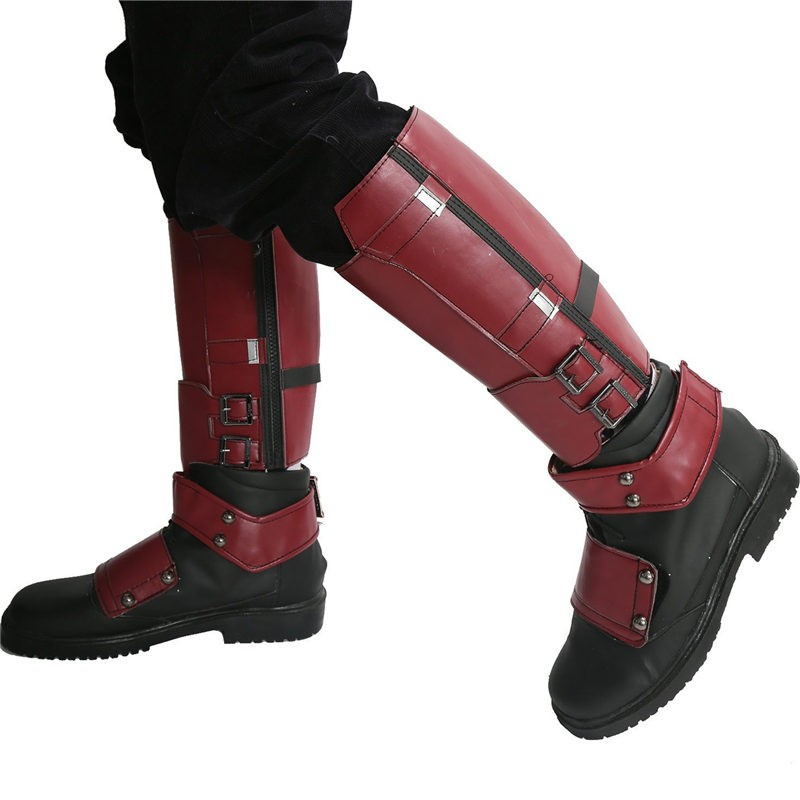 ... Deadpool Wade Winston Wilson Shoes Cosplay Boots 0765b88cb6a3f