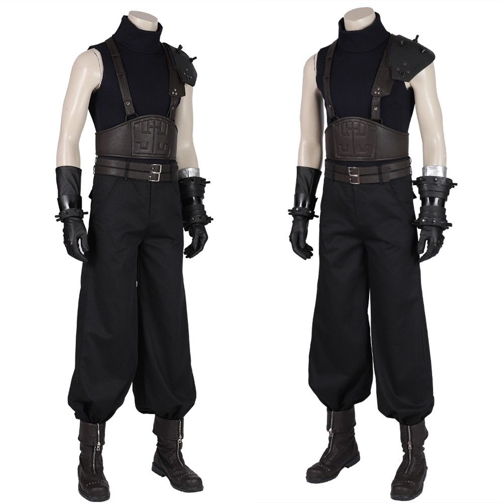 Final Fantasy VII Remake Cloud Strife Cosplay Costume