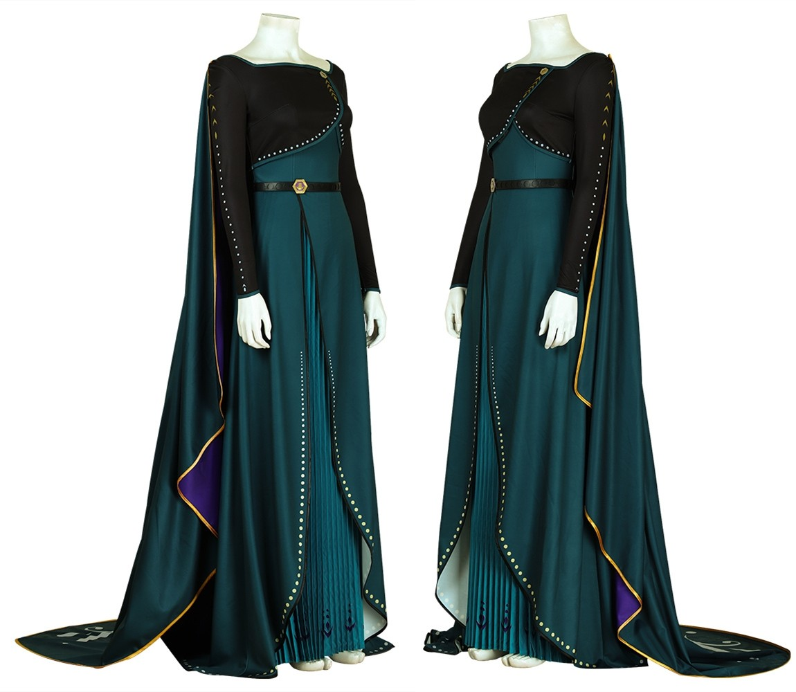 Frozen 2 Anna Cosplay Costume Fancy Dress
