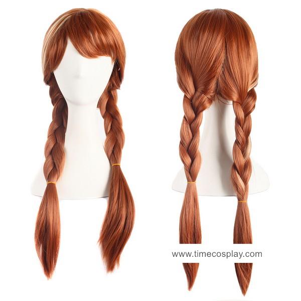 Frozen Princess Anna Cosplay Wigs