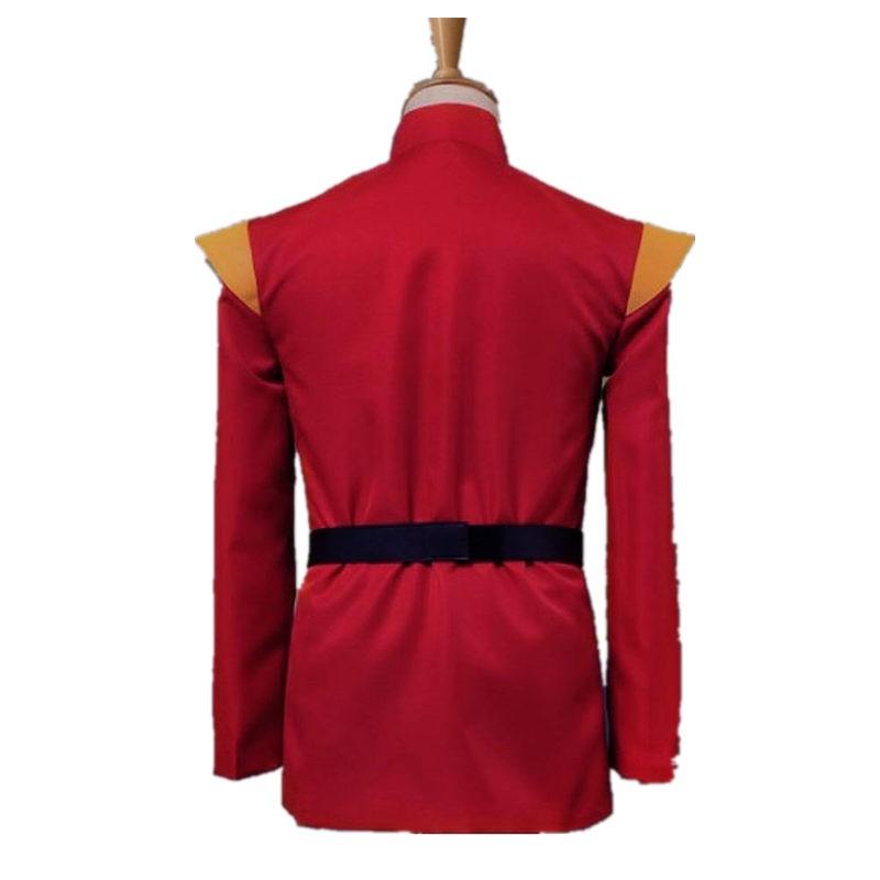 Futurama Captain Zapp Brannigan Red Uniform Cosplay Costume