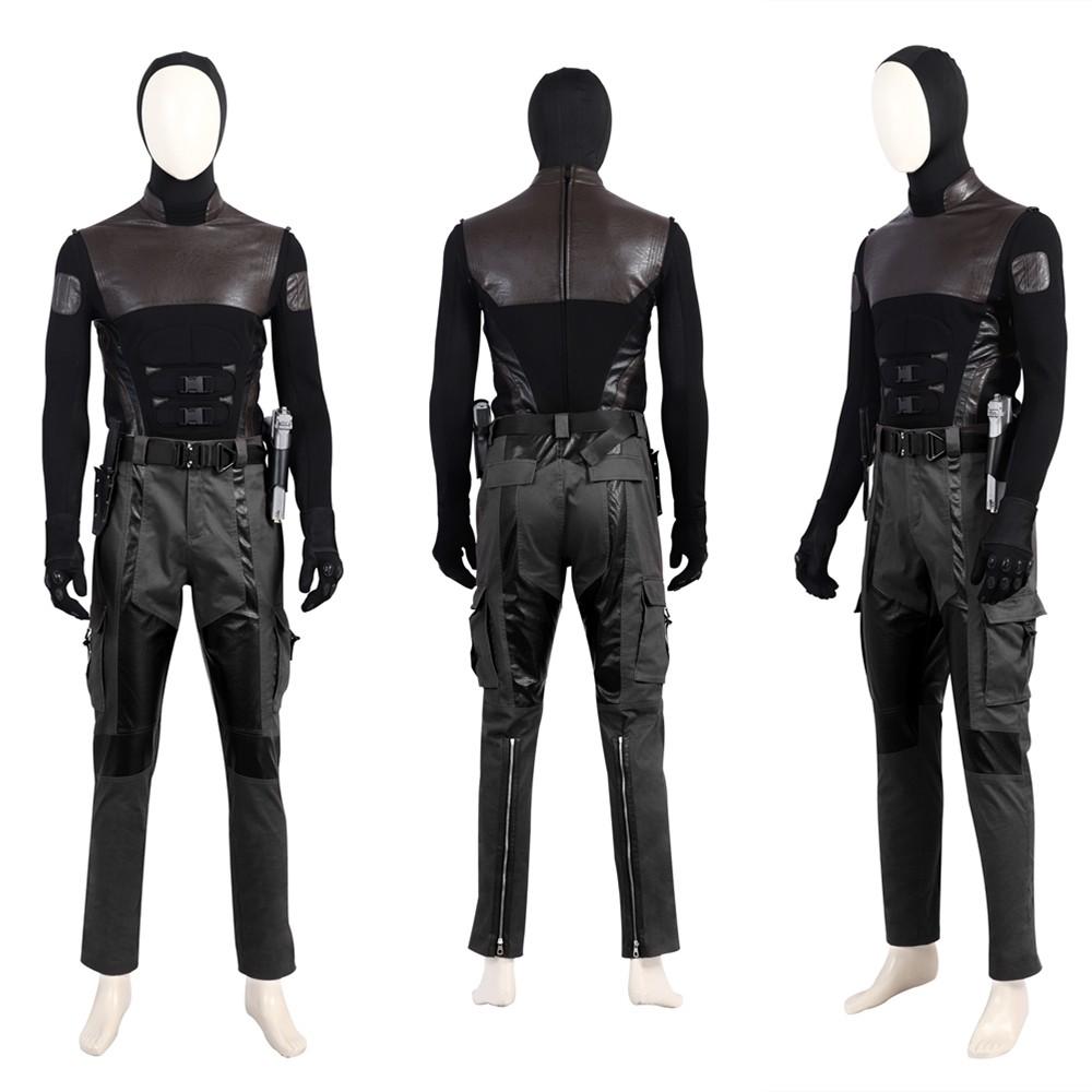 G.I.Joe Retaliation Snake Eyes Cosplay Costume