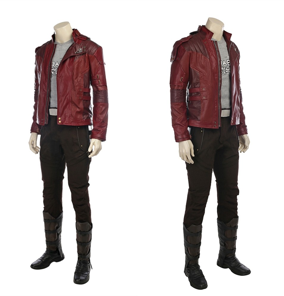 Guardians of The Galaxy 2 Star Lord Cosplay Costume - Deluxe Version