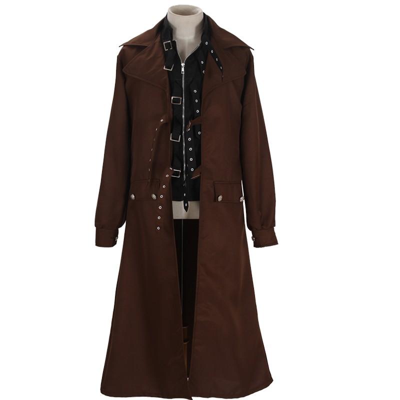 Harry Potter Cosplay Alastor Moody Mad-Eye Trench Coat Costume