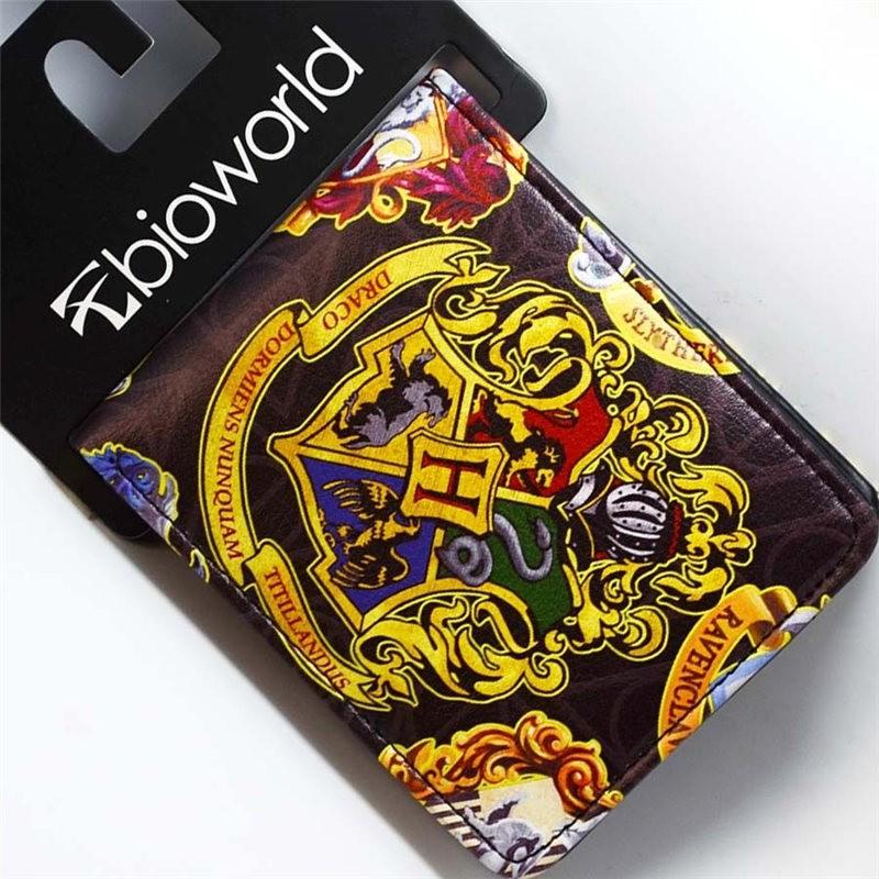 Harry Potter Hogwarts School Badge wallets