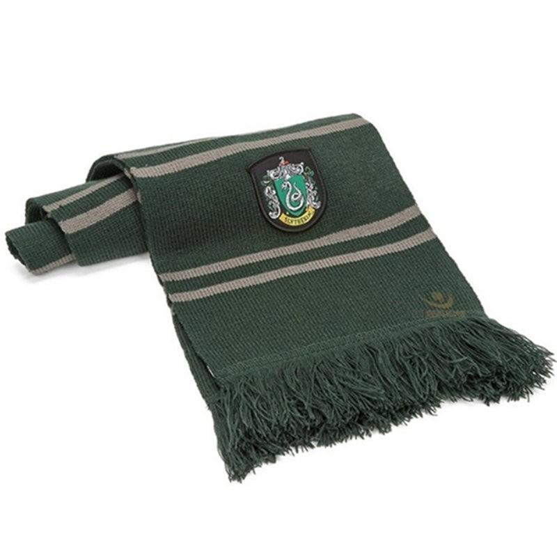 Harry Potter Slytherin Wool Scarf