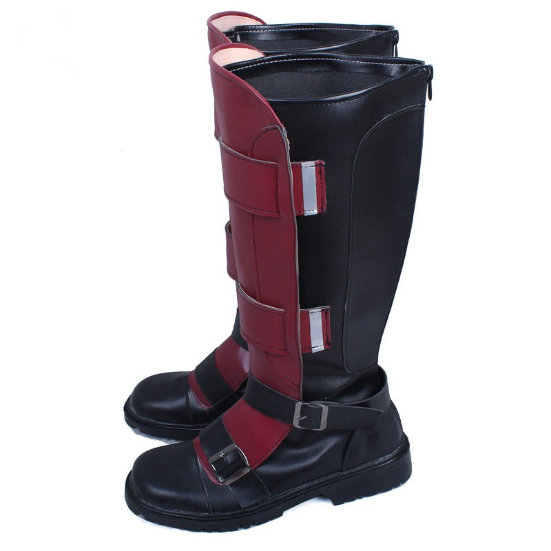 Marvel Deadpool Wade Wilson Shoes Boots Cosplay