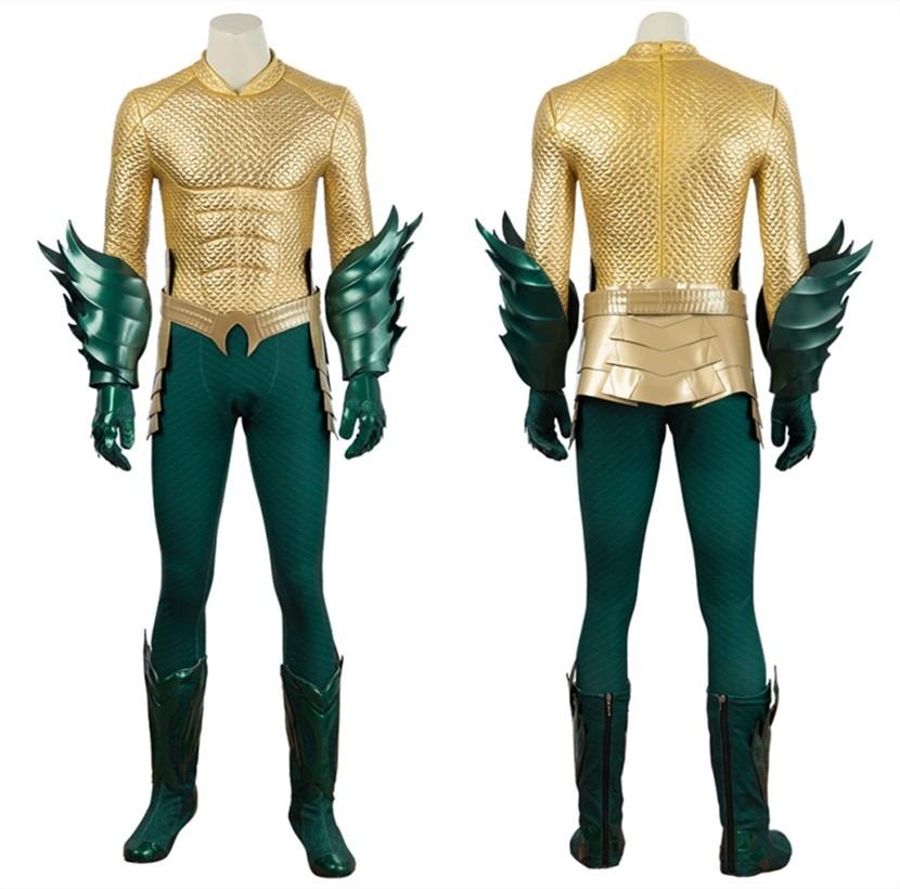 Movie Aquaman Costume Arthur Curry Cosplay Costume