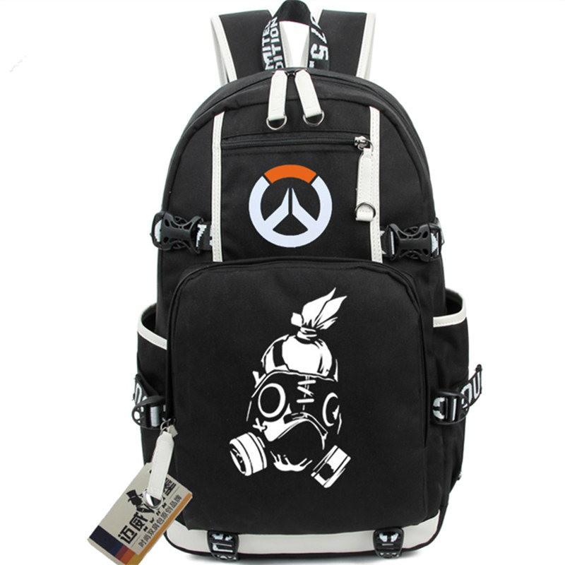 Overwatch Roadhog Icon Logo Bag Backpack