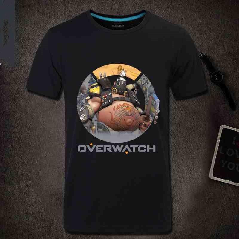 Overwatch Roadhog Men Short Sleeve T-shirt