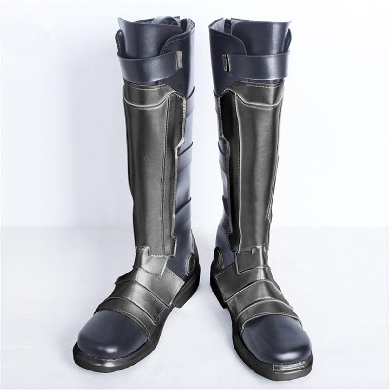 Overwatch SOLDIER:76 Shoes Cosplay Halloween Boots
