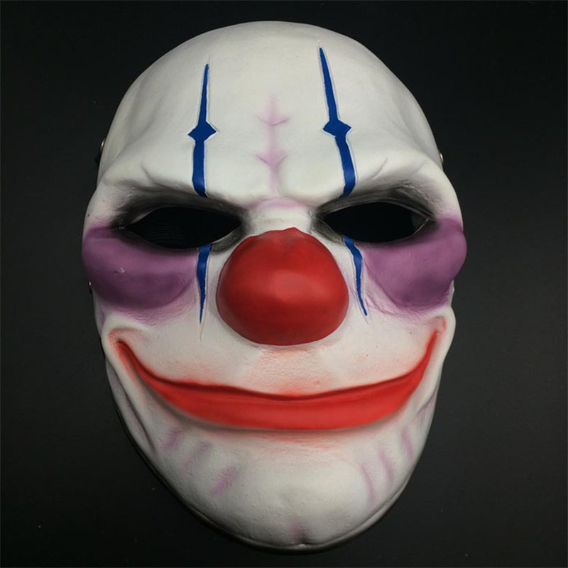 PAYDAY 2 Joker Chains Cosplay Halloween Mask Collection