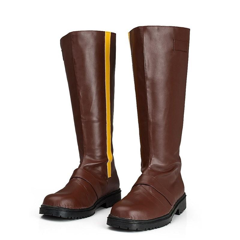 RWBY Yellow Trailer Yang Xiao Long Boots Cosplay Shoes