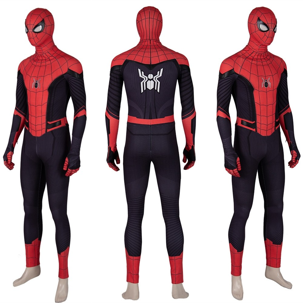 Spider-Man Far From Home Spiderman Costume Cosplay Jumpsuit