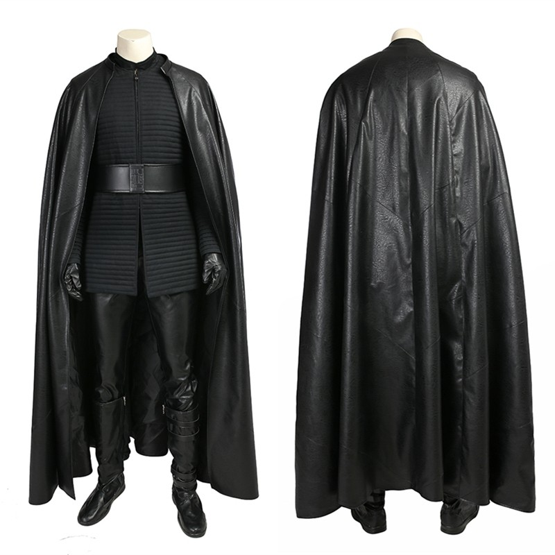 Star Wars 8 The Last Jedi Kylo Ren Costume Cosplay Deluxe Version