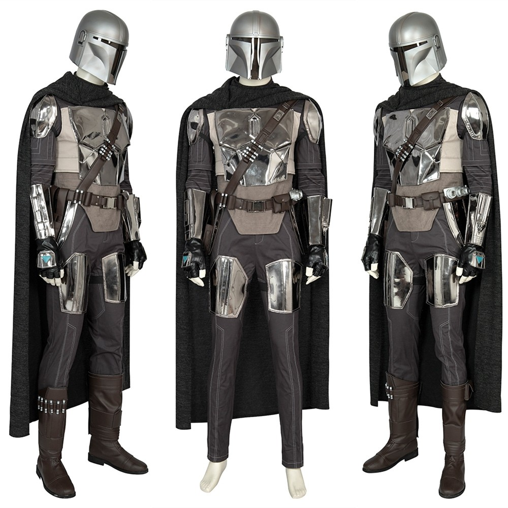 Star Wars The Mandalorian Cosplay Costume Deluxe Outfit