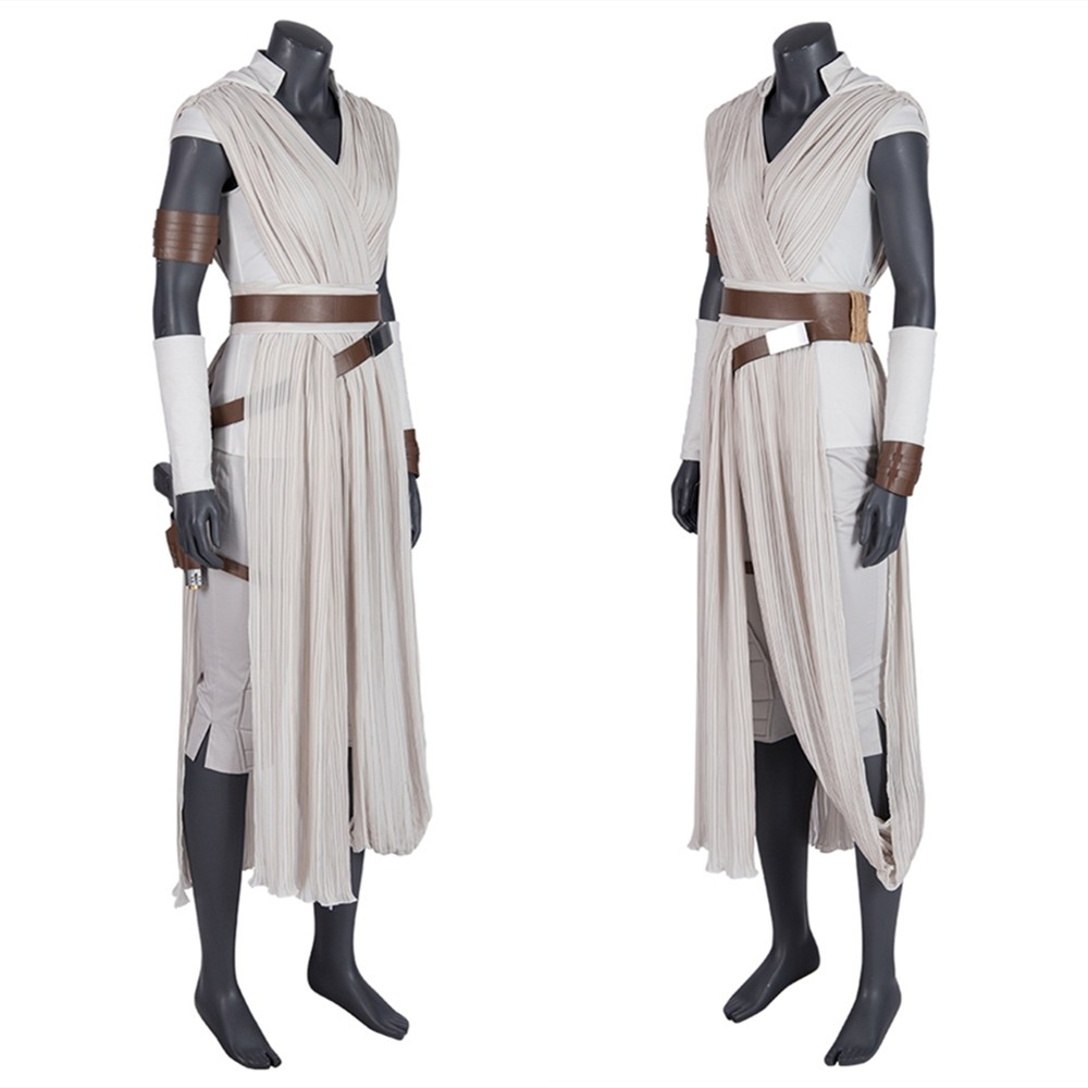 Star Wars The Rise of Skywalker Rey Cosplay Costume
