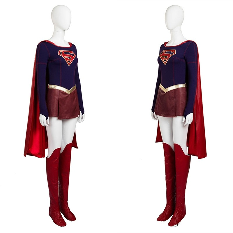 Supergirl Cosplay Costume - Deluxe Version