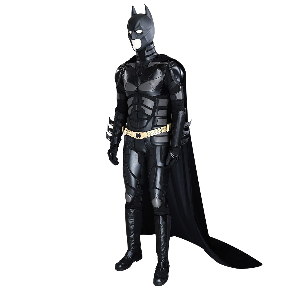 The Dark Knight Rises Batman Cosplay Costume Deluxe Version