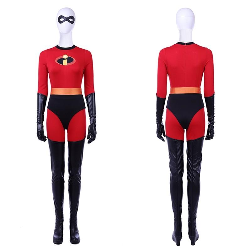 The Incredibles 2 Elastigirl Costume Helen Parr Cosplay Costume