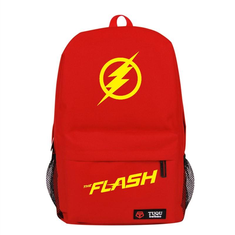 The Flash Logo Backpack Schoolbag