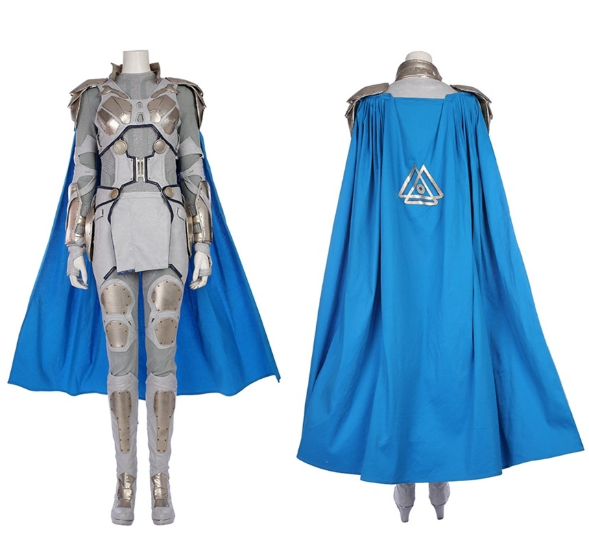 Thor Ragnarok Valkyrie Costume Deluxe Cosplay Costume