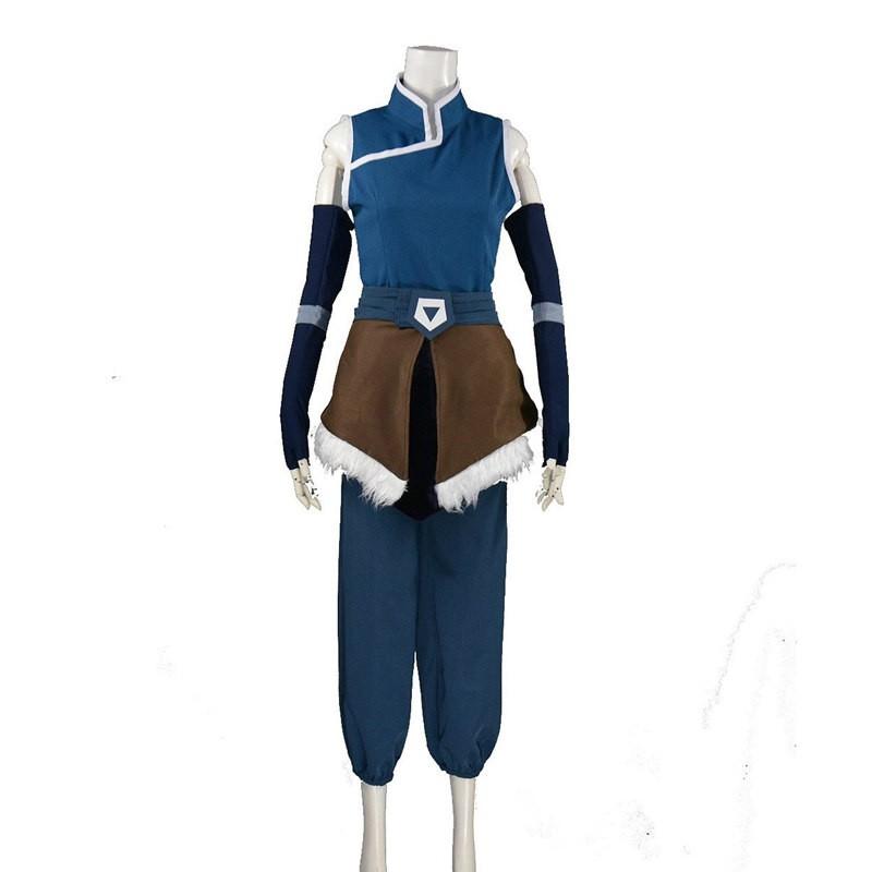 Avatar The Legend of Korra Cosplay Korra Season Costume