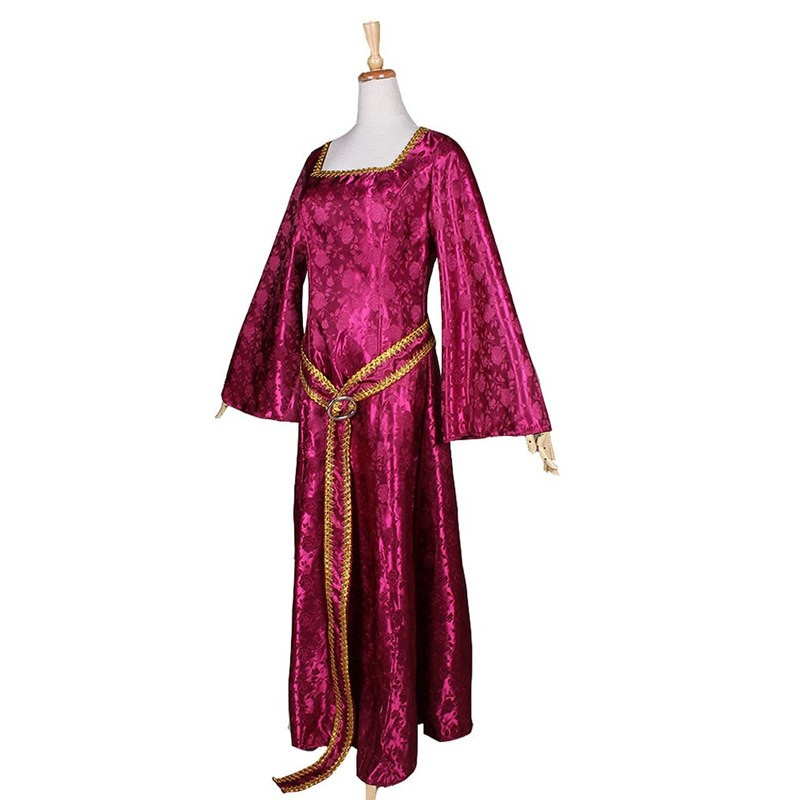 TimeCosplay Disney Rapunzel Tangled Mother Dress Cosplay Party Halloween Costumes