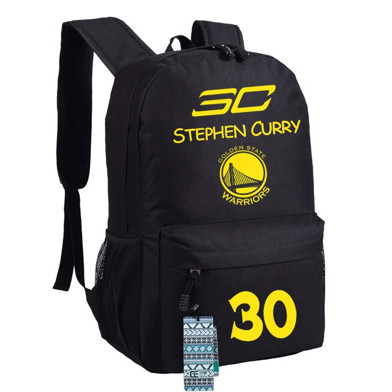 Timecosplay Golden State Warriors Team 30 Stephen Curry Shoulders Bag Schoolbag