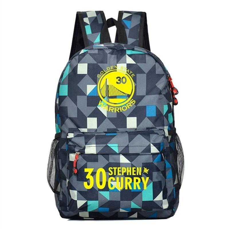 Timecosplay Golden State Warriors Team Stephen Curry 30 Shoulders Bag Schoolbag