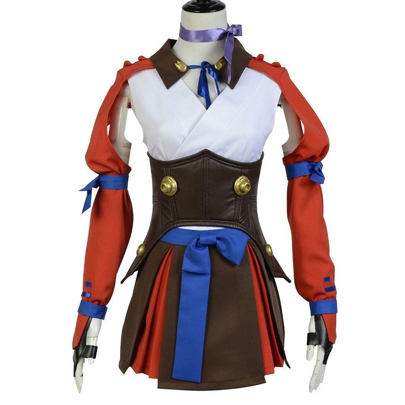Timecosplay Kabaneri of the Iron Fortress Mumei Battle Dress Cosplay Costume