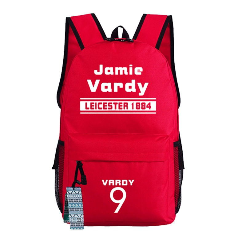 Timecosplay Leicester City Football Club Shoulders Jamie Vardy Bag Schoolbag