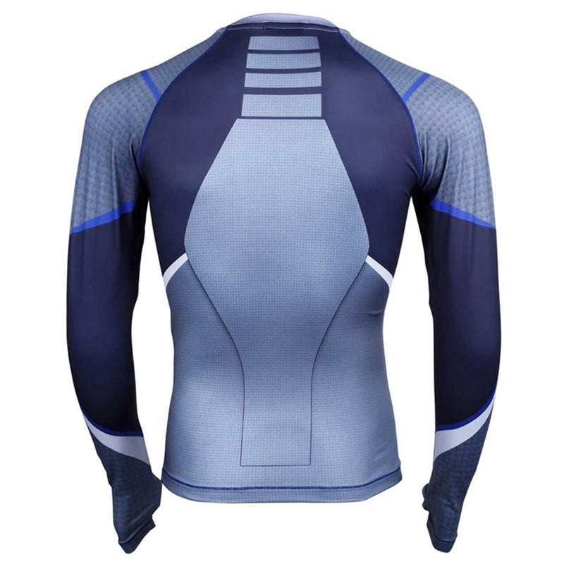 Timecosplay Marvel Superhero The Avengers Quicksilver CosplaySport Tight Tops CosplayTee Shirt