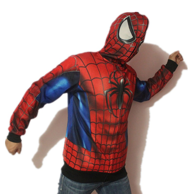 Timecosplay Mavel Spider-Man Cosplay Venosuit Zipper Hoodies Jacket